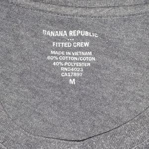 Banana Republic Shirts - Banana Republic Plum Tee